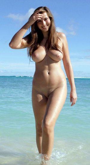 nackt mädchen strand selfie